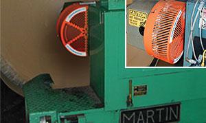 martin corrugator roll stand
